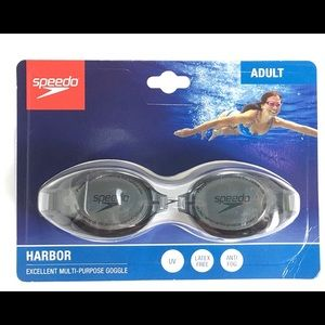 NWT Speedo Adult Harbor Swim Goggles